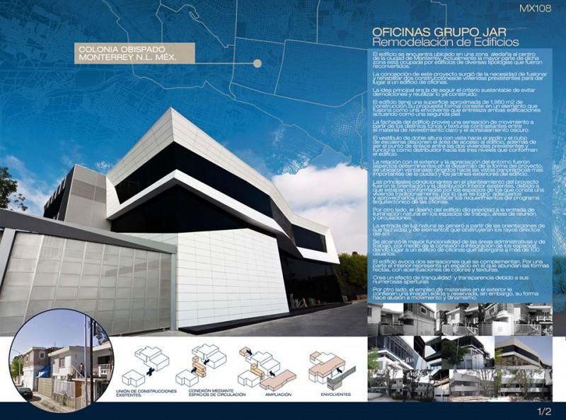 Participación en Bienal Jovenes Arquitectos